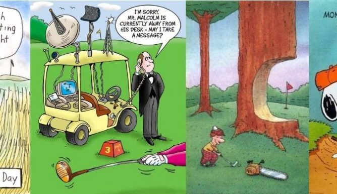 Golf Cartoon #435