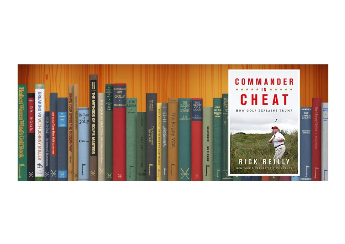 Golf Books #363 (Commander in Cheat: How Golf Explains Trump: The brilliant New York Times)