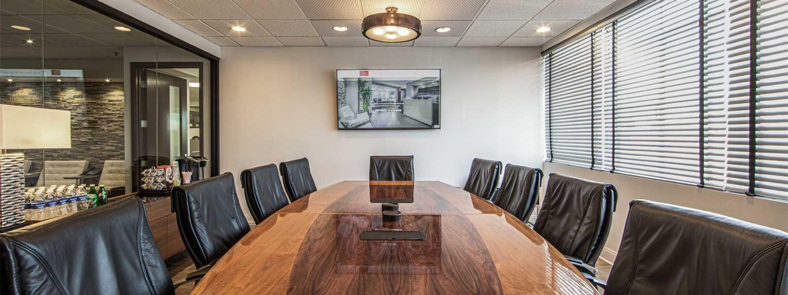 Main Conference Room at Ecoff Campain & Tilles, LLP