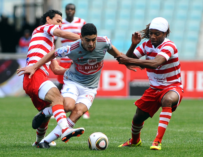 Egyptian Zamalek of Cairo forward Mohamed