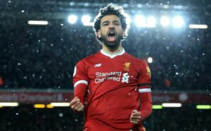 The Egyptian King scored twice against Brighton