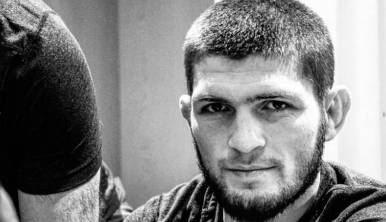 Khabib and Vladimir Putin