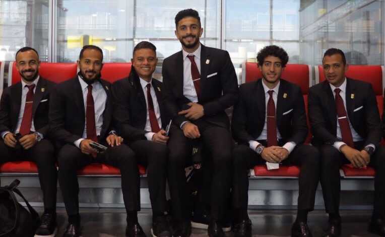 Al Ahly at the Airport