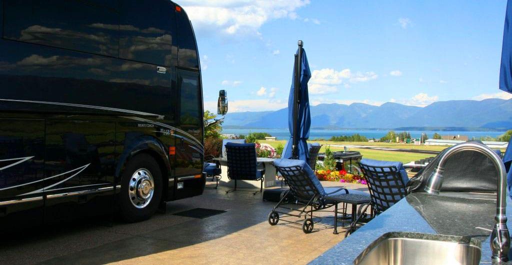 Montana Motorcoach Park in Polson, MT