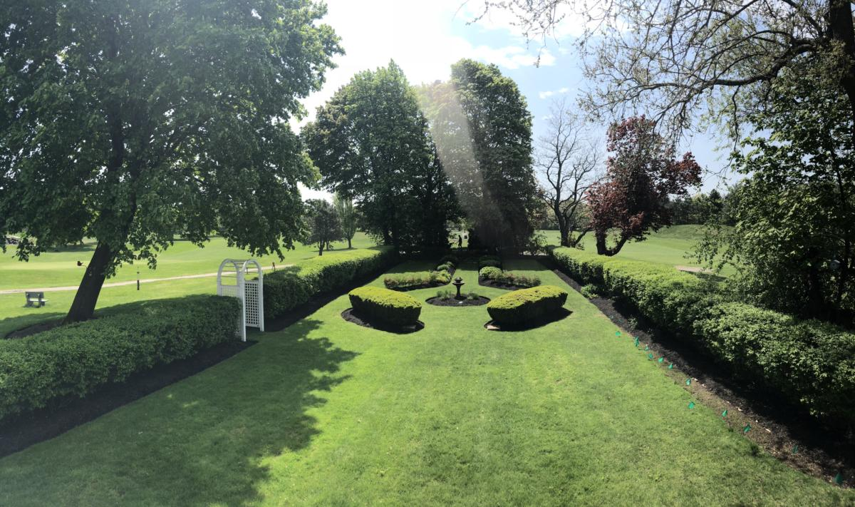 Nursing Home Beautiful Garden