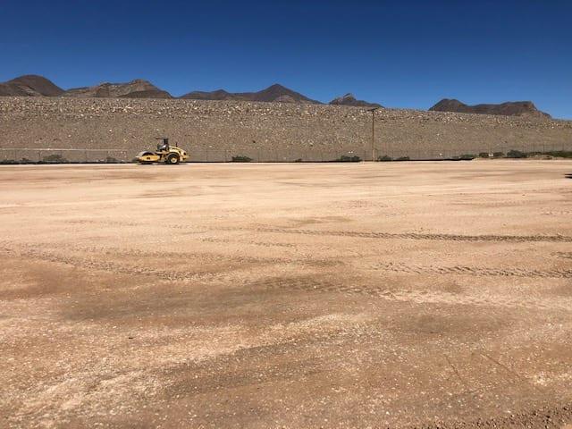 earthwork in southwest