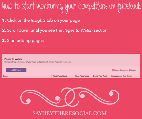 How to Start Monitoring Your Competitors on Facebook