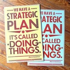 Strategic Management Needs a Plan