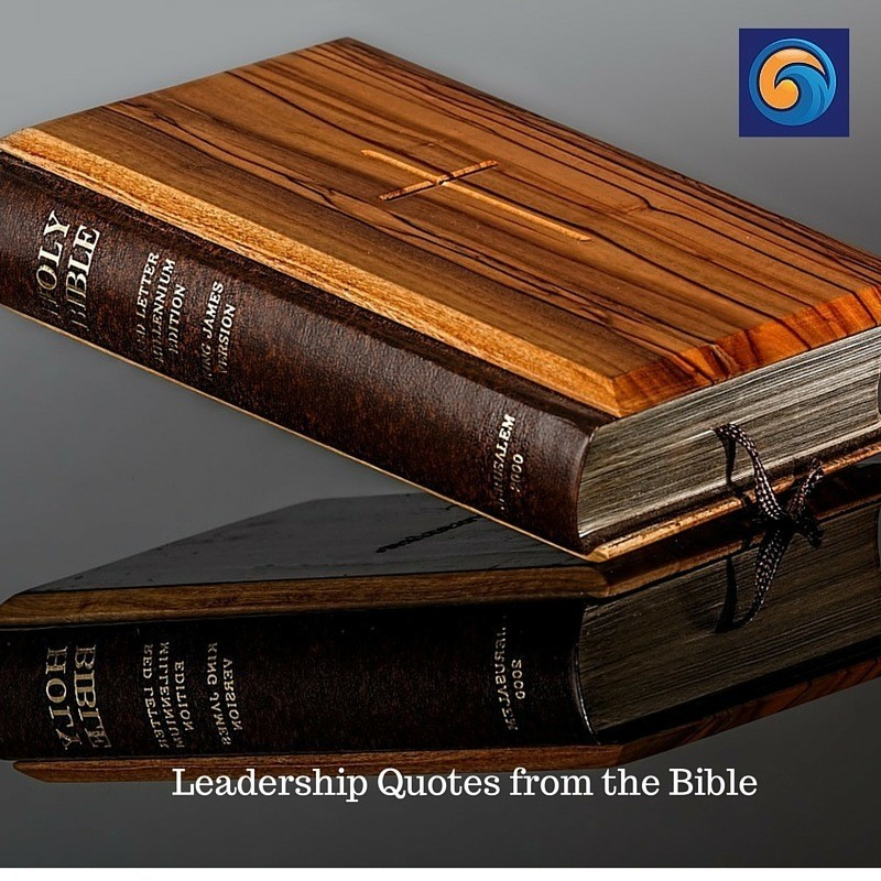 Leadership Quotes from the Bible: 12 Lessons