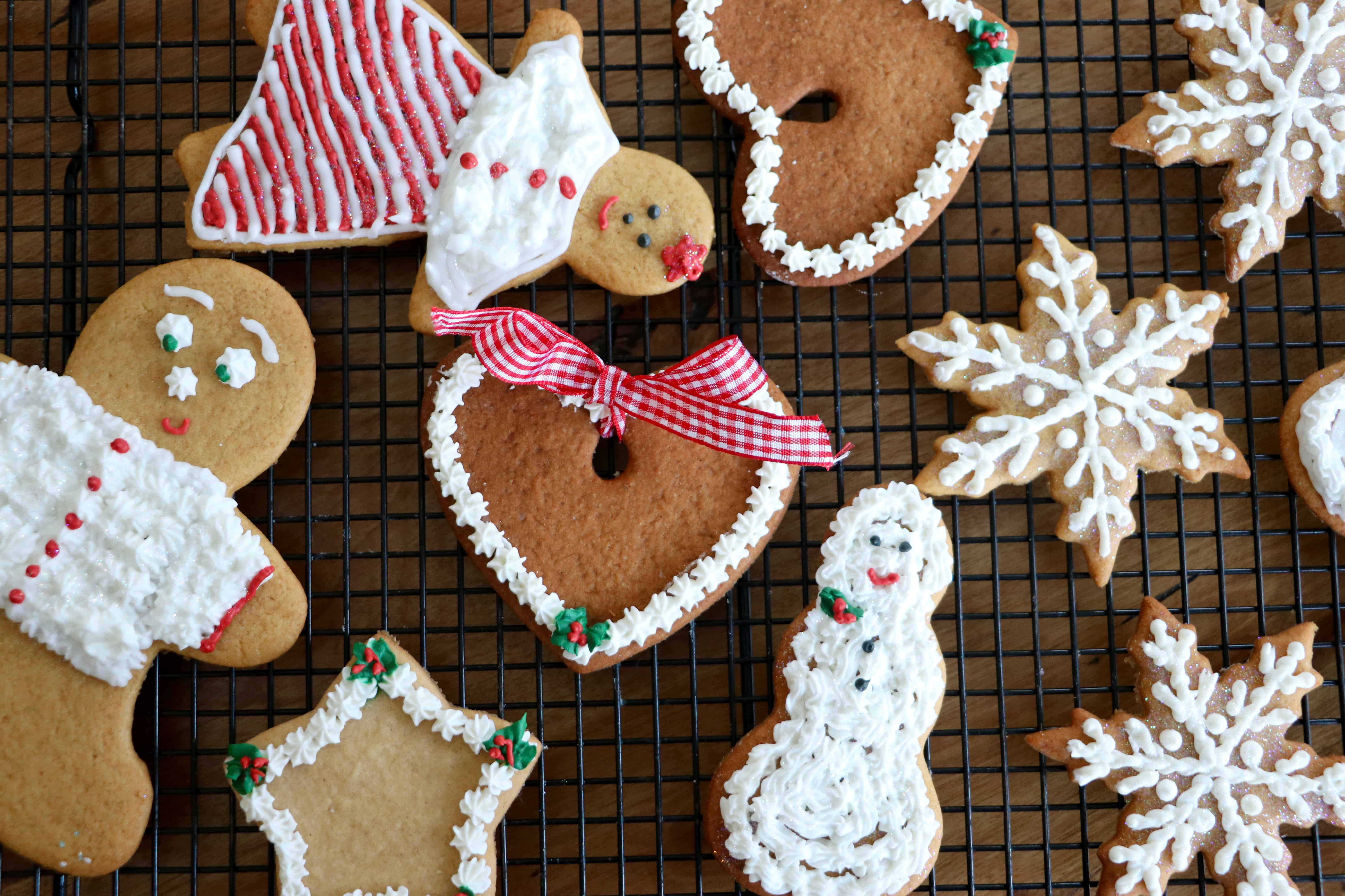 Holiday Cut-Out Crispy Cookies