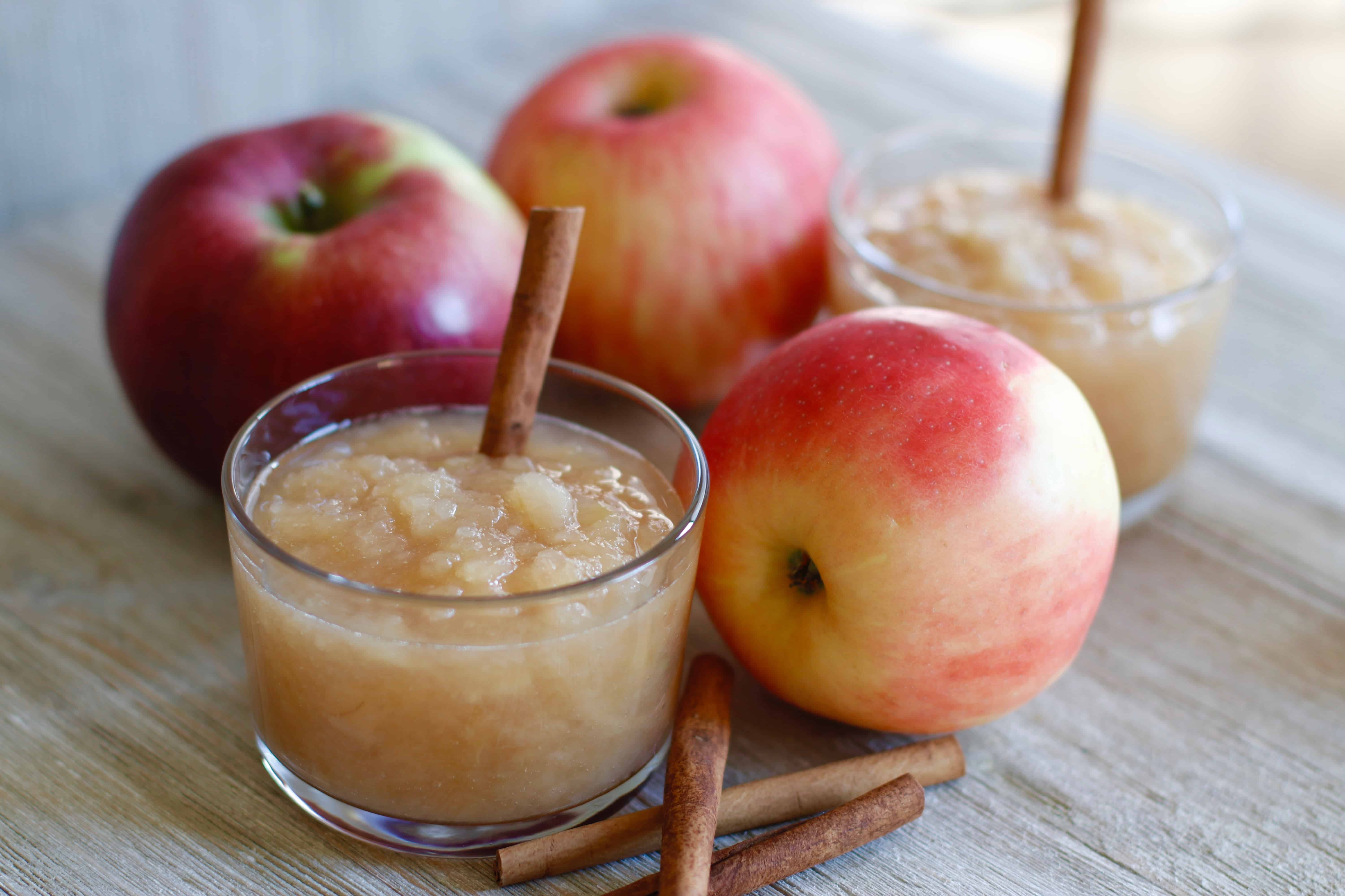 Slow Cooked Apple Sauce