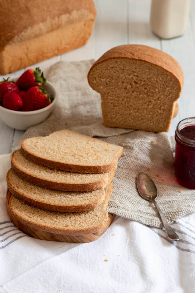 Quick & Easy Whole Wheat Bread