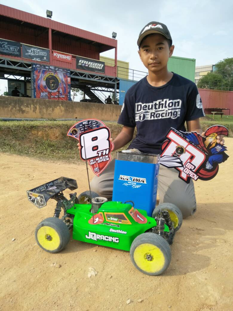 JQRacing Sign Promising Malaysian Youngster Fikri