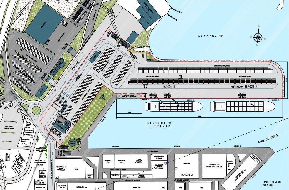 Port of Mar del Plata Plan