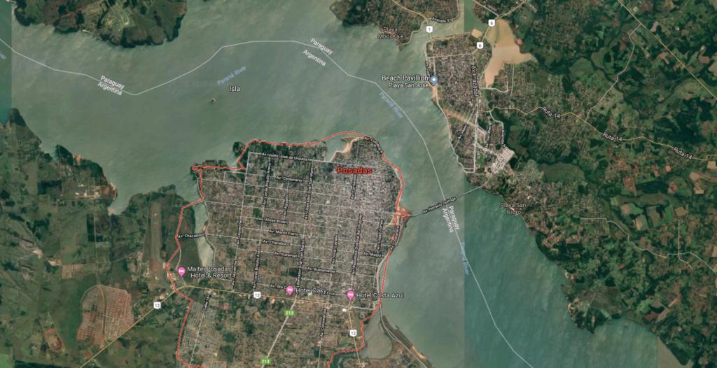 Posadas - Ports in Argentina