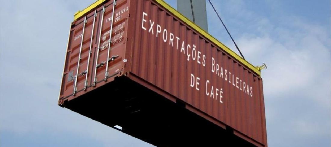 Coffee Exporters Council (Cecafé) coffee container