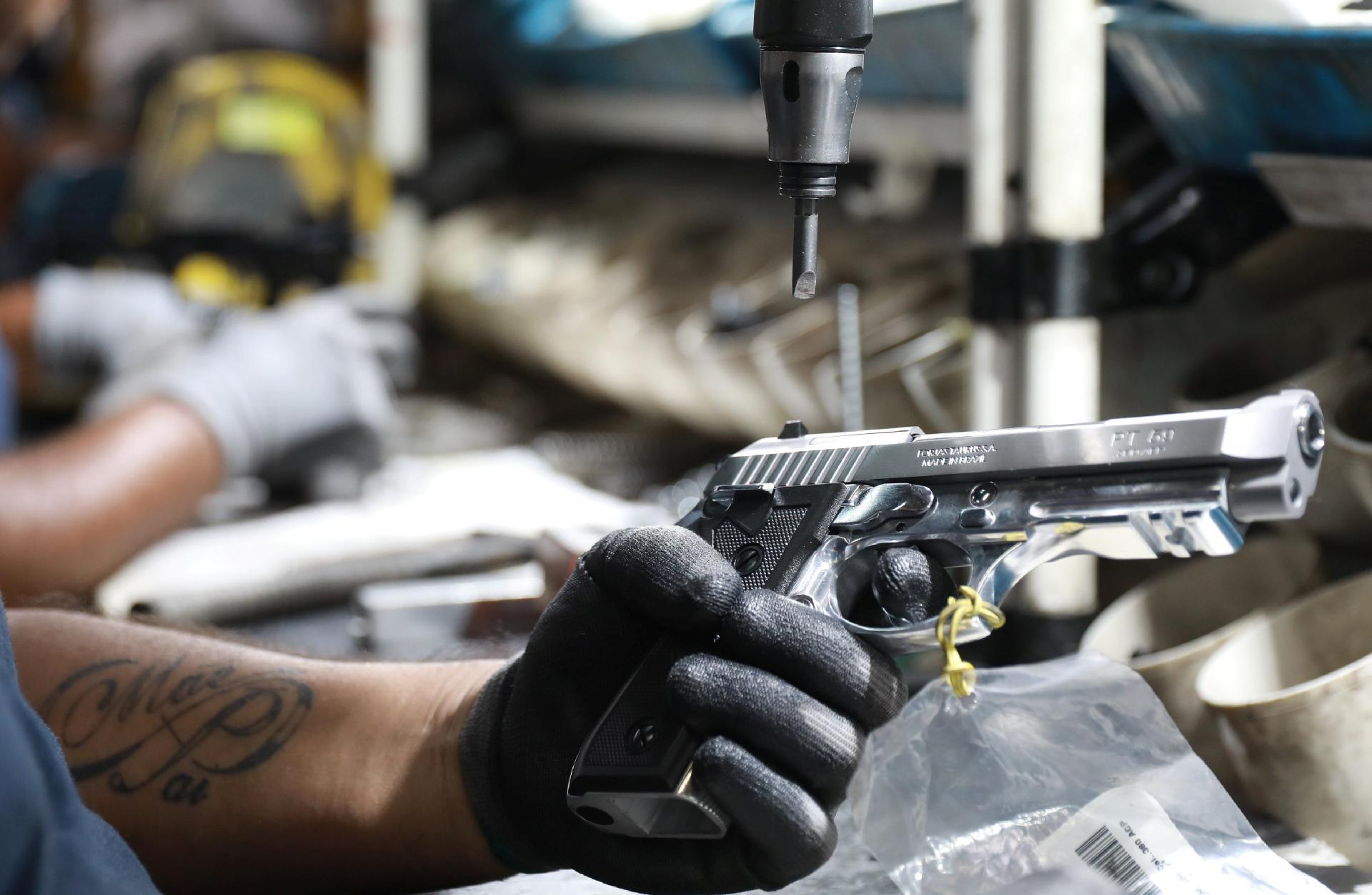 Taurus gun production unit in Brazil
