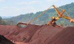 exportações de minério