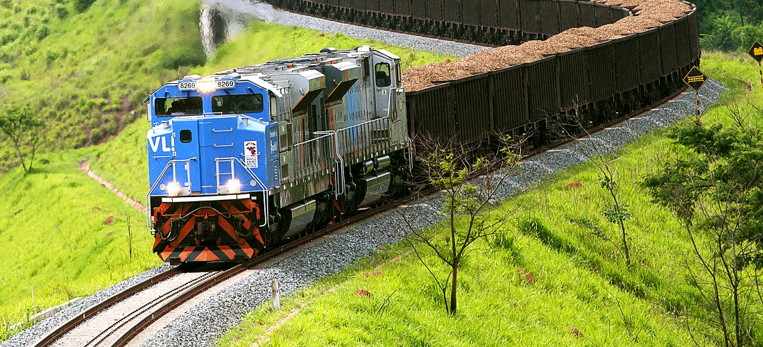 transporte ferroviário de cargas