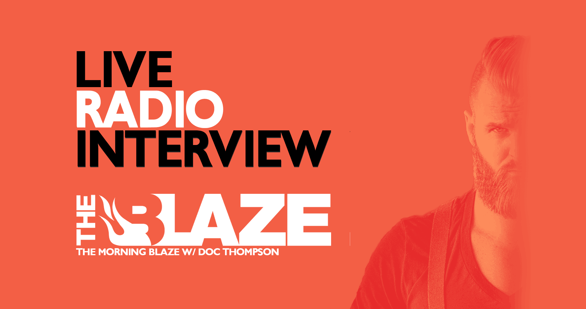 My Live Radio Interview On The Morning Blaze #BUILDINGAMERICA