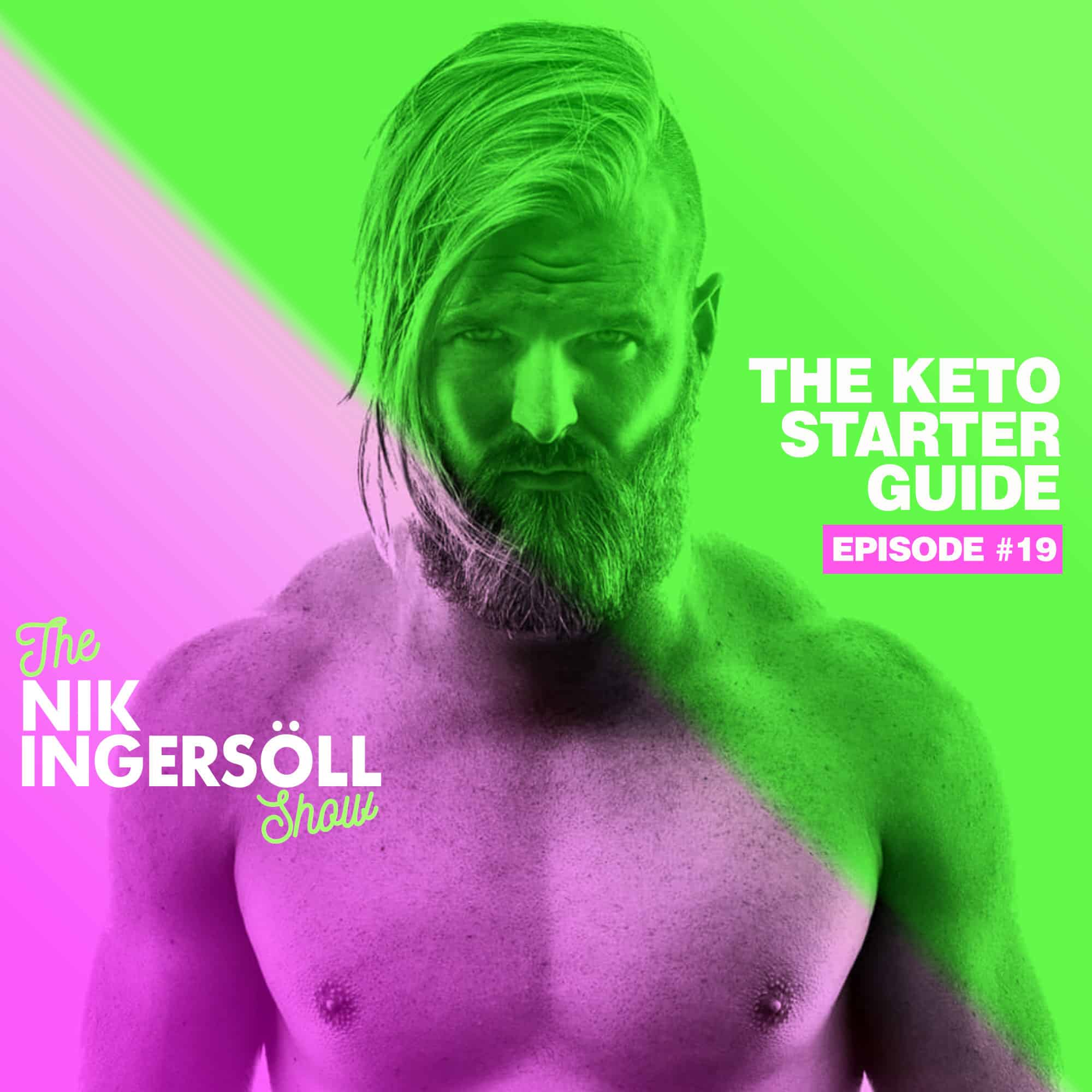 #19: Keto Starter Guide – How To Get Into Ketosis – (Podcast) The Nik Ingersoll Show
