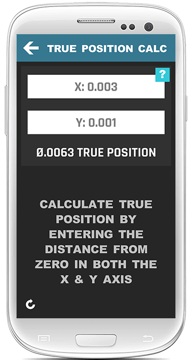 True Position Calculator