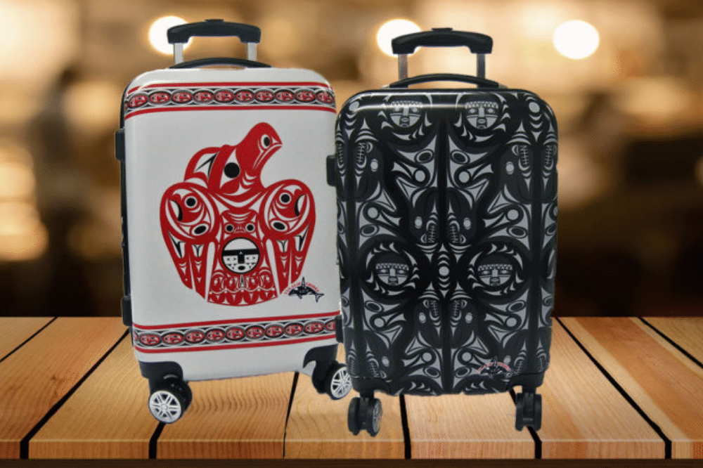 Tulalip Luggage Closeup
