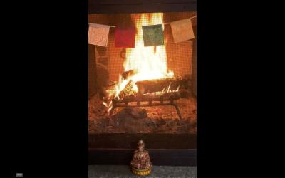 Fireside Pranayama & Guided Meditation