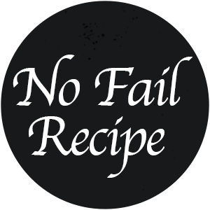 No Fail Recipes