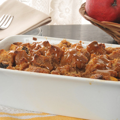 Banana Chocolate Bread Pudding