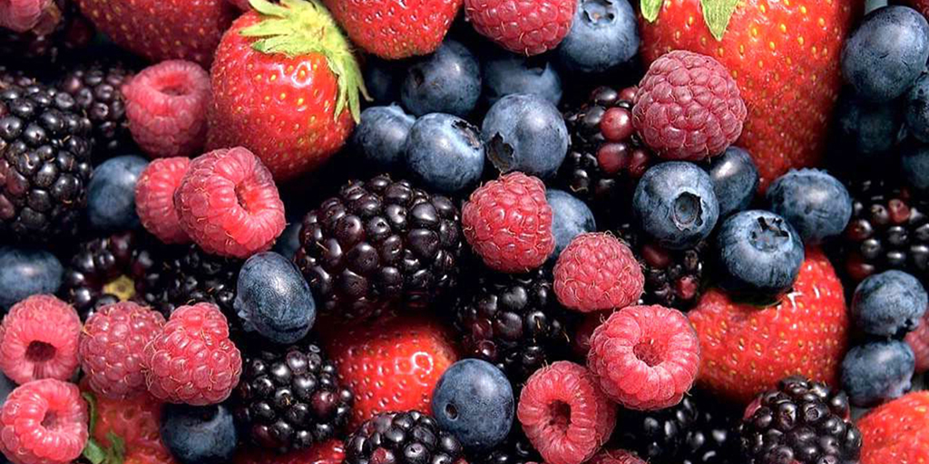 Berries - Strawberries, Raspberries, Blackberries, Huckleberries