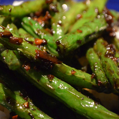 Spicy Chinese Green Beans