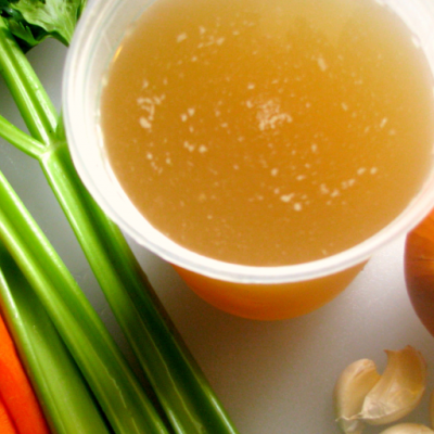 Roasted Chicken Broth