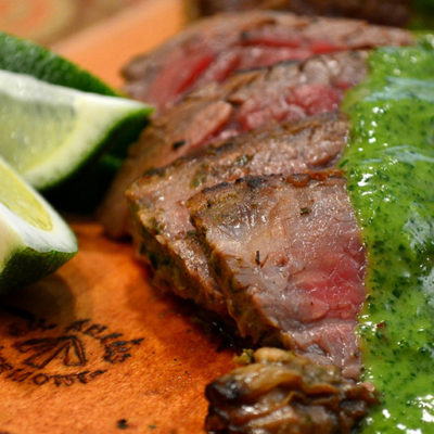 Churrasco with Chimichurri Beef Tenderloin