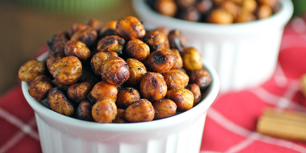 Roasted Chickpeas (aka Garbanzo Beans)