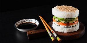 Healthy Sushi Burger