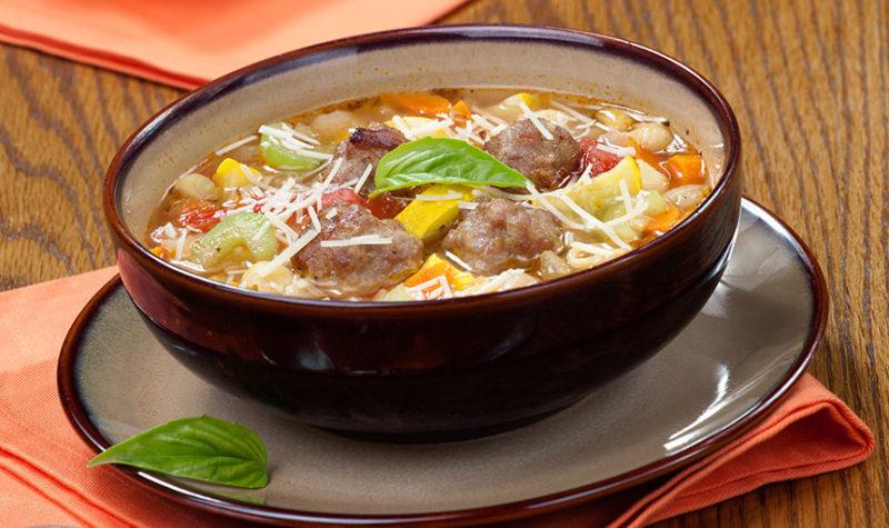 Italian Meatball Soup