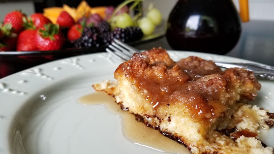 French Toast Casserole for breakfast or brunch