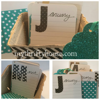 Using a berry basket to preserve and journal your happy memories