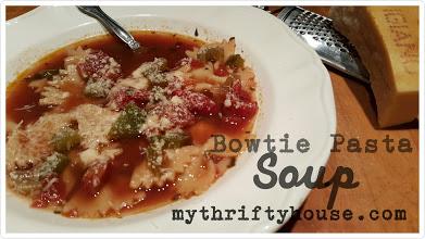 Bowtie Pasta Soup