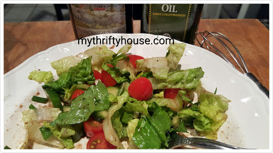 whole30 day 2 salad