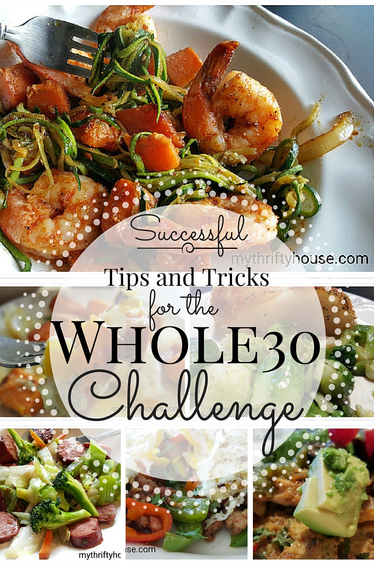 Whole30 Challenge collage