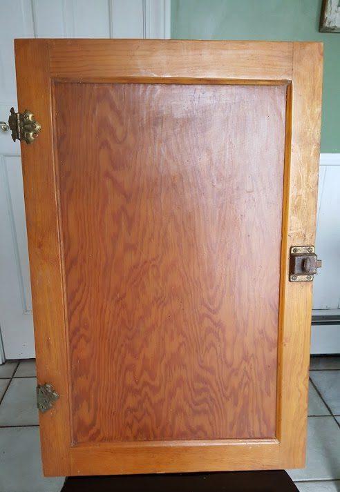 vintage cabinet door
