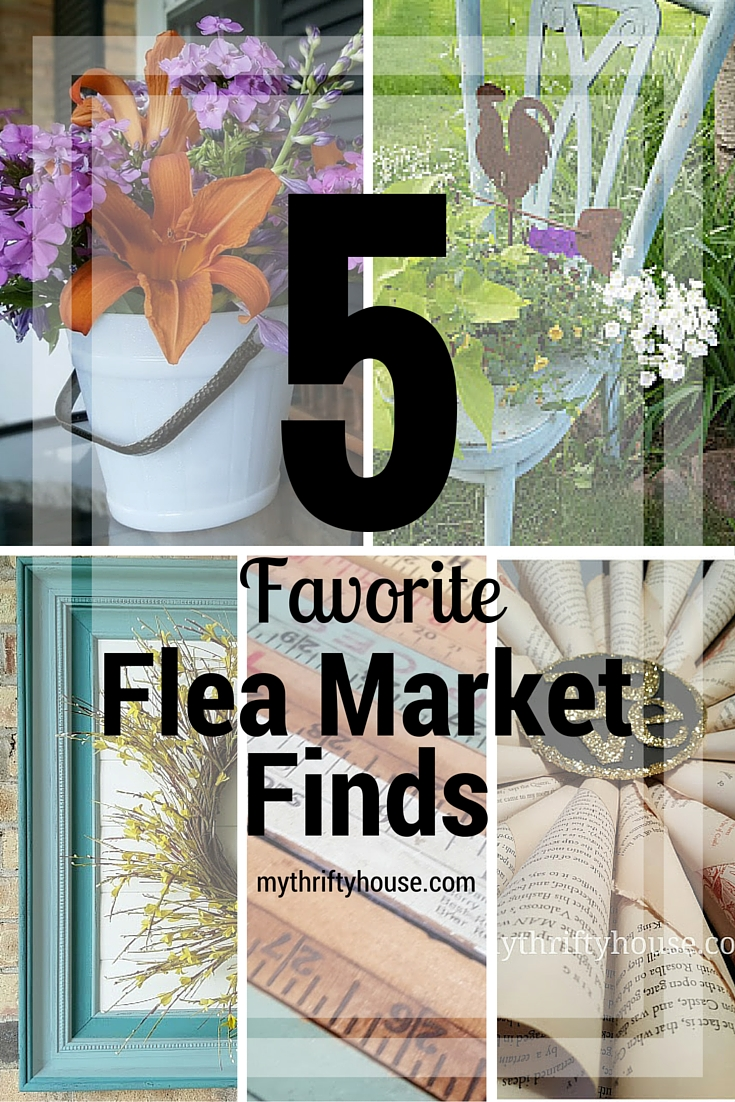 Five Favorite Flea Market Finds