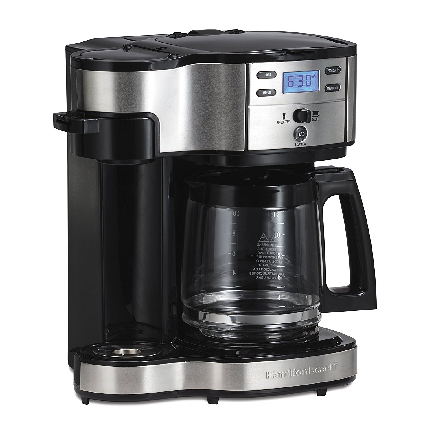 Coffee Lovers Single and Full Pot Coffee Brewer
