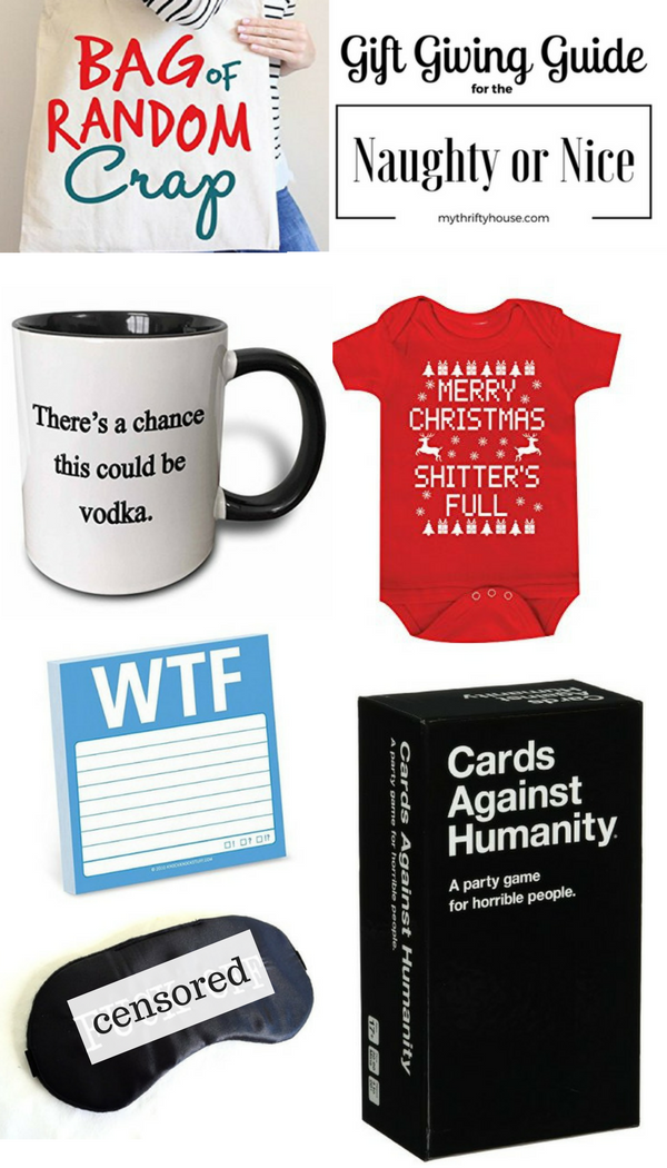 Gift Giving Guide for the Naughty or Nice