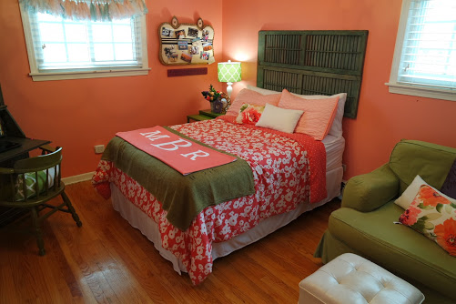 $100 teenage girl bedroom makeover