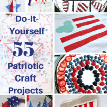 55 Patriotic Craft Projects Round Up My Thrifty House