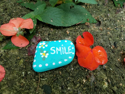 Smile Kindness Rock