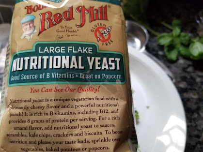 Nutritional yeast for Whole30 pesto sauce